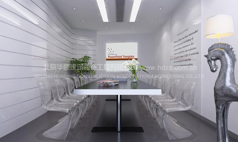 朝阳区望京soho(两只老虎投资公司)办公室装修案例