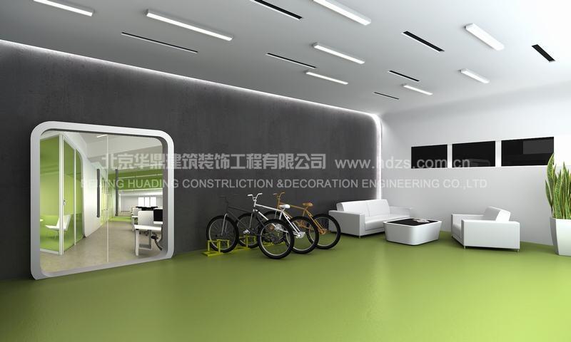 豌豆荚办公室装修设计效果图