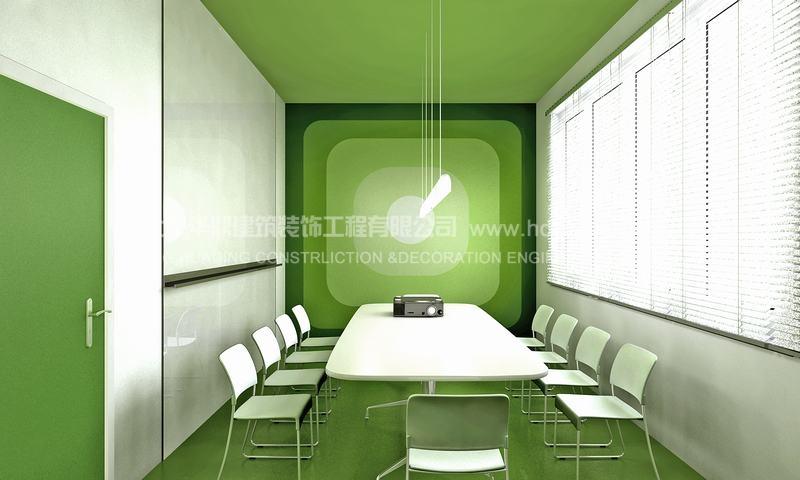 豌豆荚会议室装修效果图