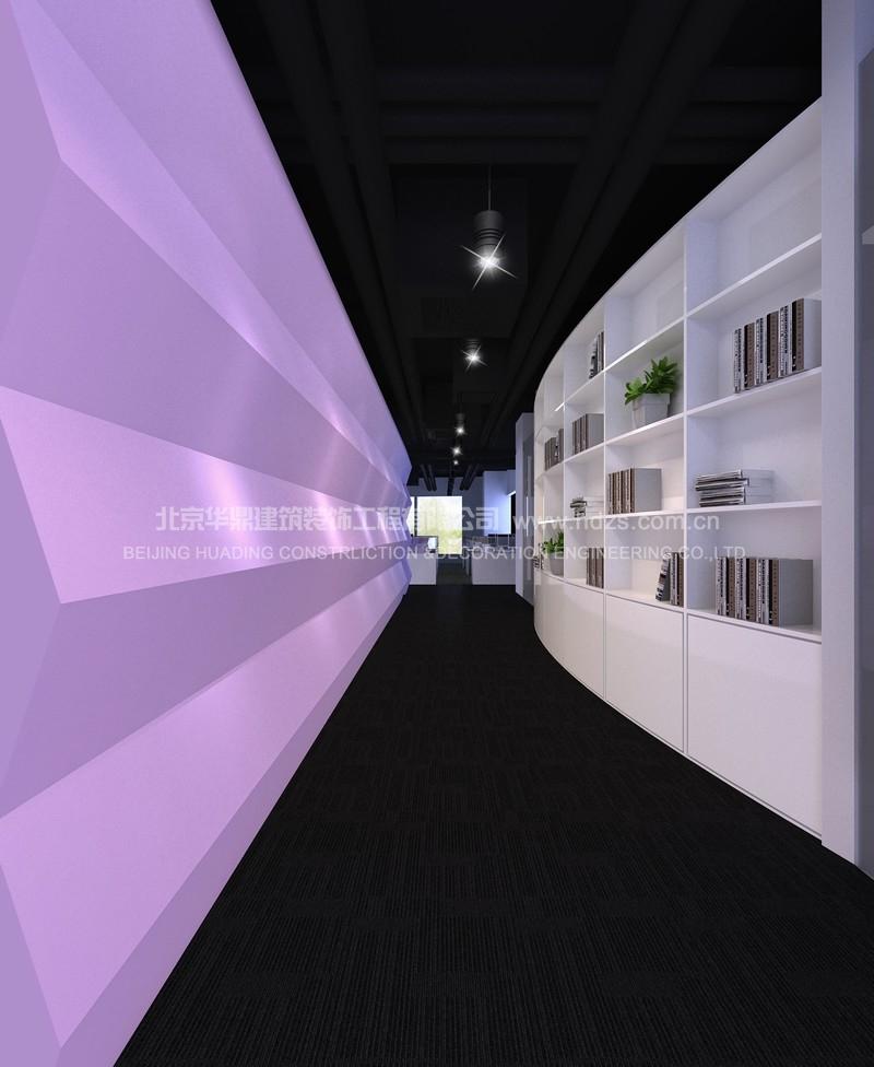 文化长廊装修实景照