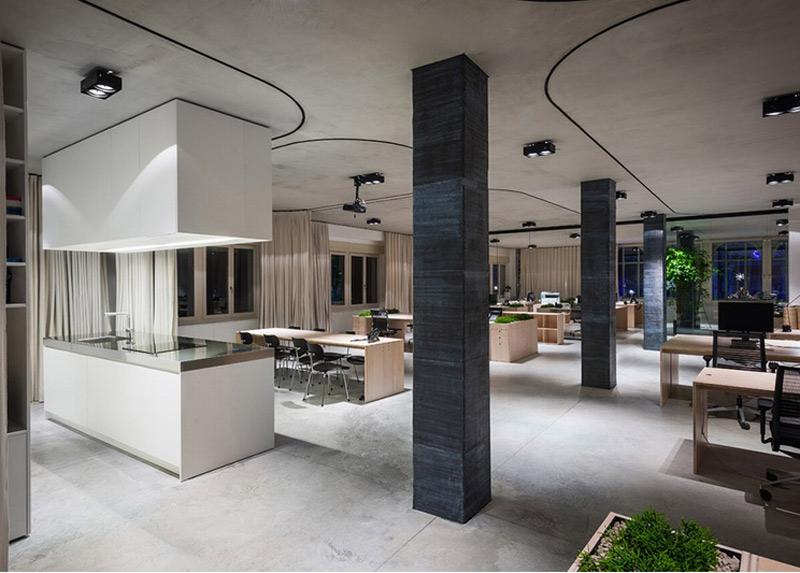 外企公司办公室装修设计项目