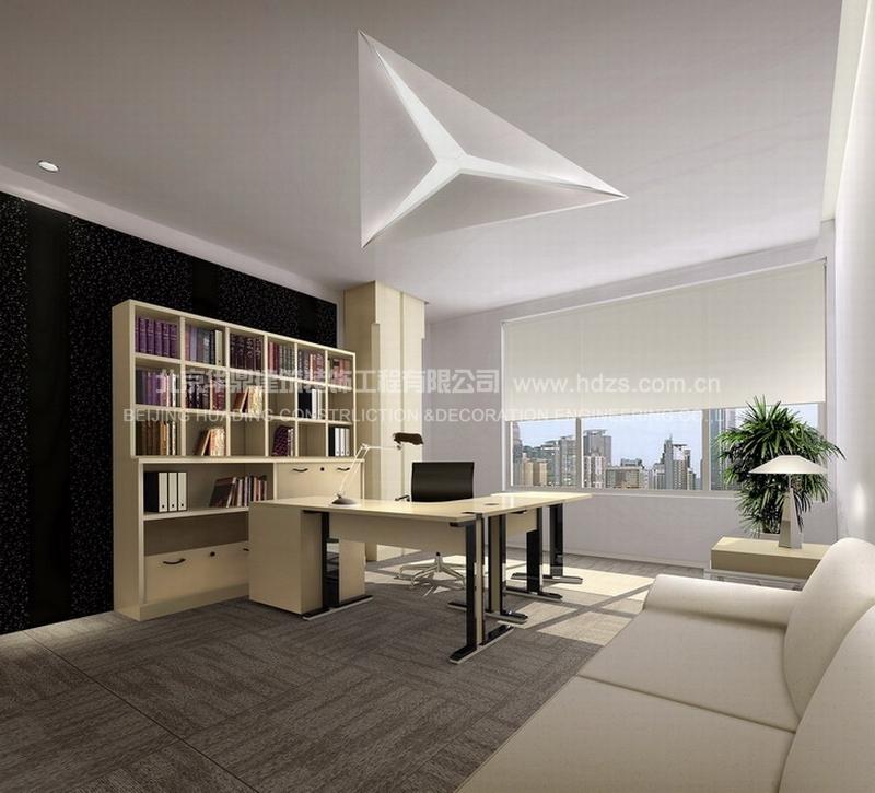 房地产公司办公室平面设计图展示