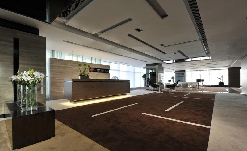 投资公司办公室室内装修设计