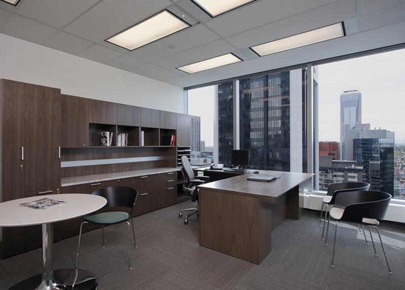 外企石油开采公司办公室装修设计